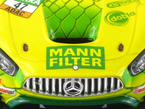 "Mercedes-AMG GT3 ""MANN-FILTER Team HTP Nr.47"""